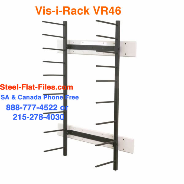 VRW46 rolled media large doc storage for architects, planners and designers.