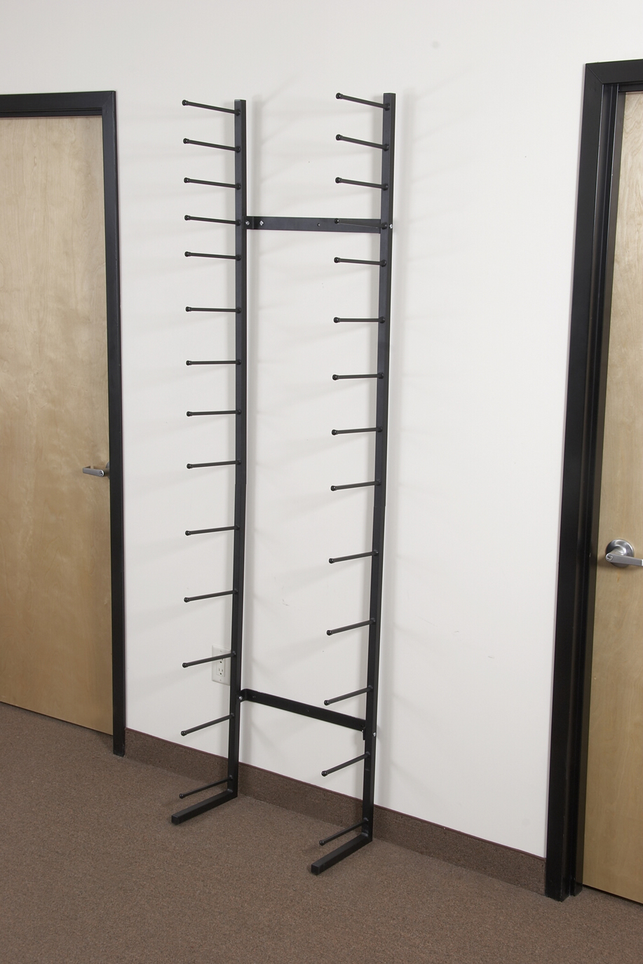 Vis i racks for large volumes of rolled documents steel for Architectural plan storage