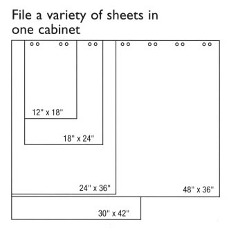 Accommodate a variety of sheet sizes in one Pinfile. USA & Canada 888-777-4522.