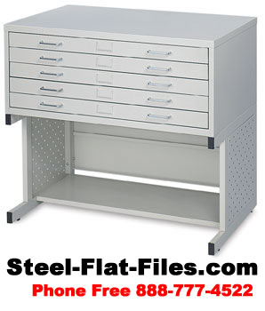 Safco Facil Flat File