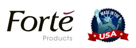 Forte Symbol and Made In The USA Symbol
