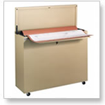 The Ulrich Minifile improves convenience, while optimally utilizing small spaces for maximum large document storage.