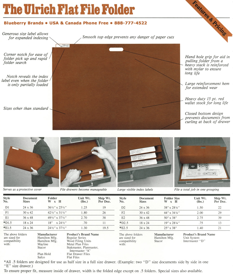 The Ulrich Planfile and Flat File Specification and Manufacturer Cross-Reference Guide.