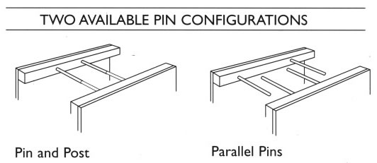 There are two available pin configurations for the Ulrich Pinfile from Steel-Flat-Files.com