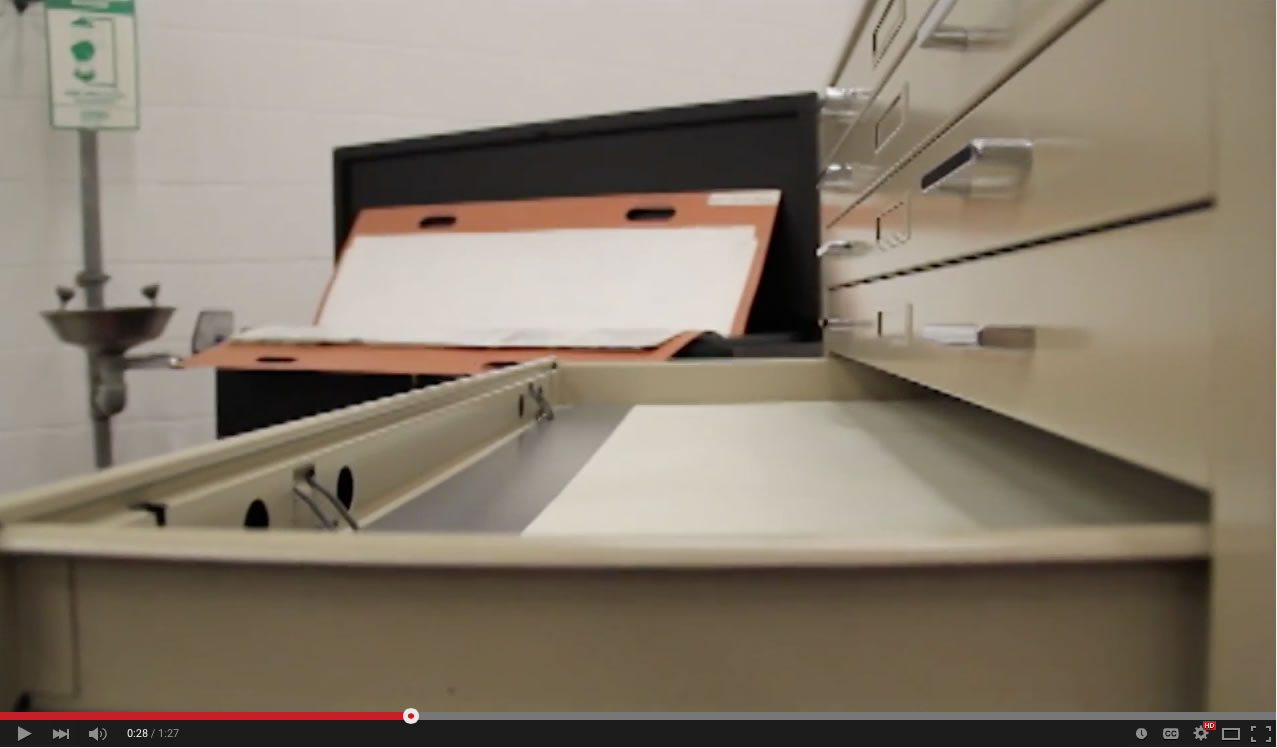 Ulrich offers file cabinets with fire and water resistance.  See the video now!